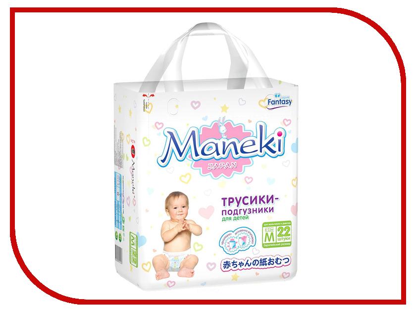 Подгузники Maneki Fantasy Мини M 6-11kg 22шт BD1262 подгузники maneki chibi neko m 6 11кг 62шт bd 1910