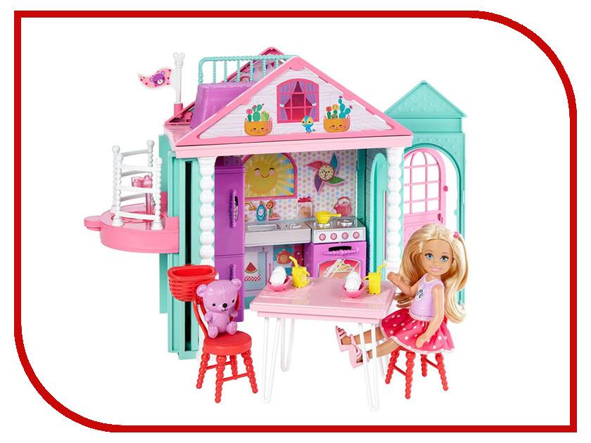 Кукольный домик Barbie Домик Челси, 14 см, DWJ50 поло boss hugo boss boss hugo boss bo010embujm4