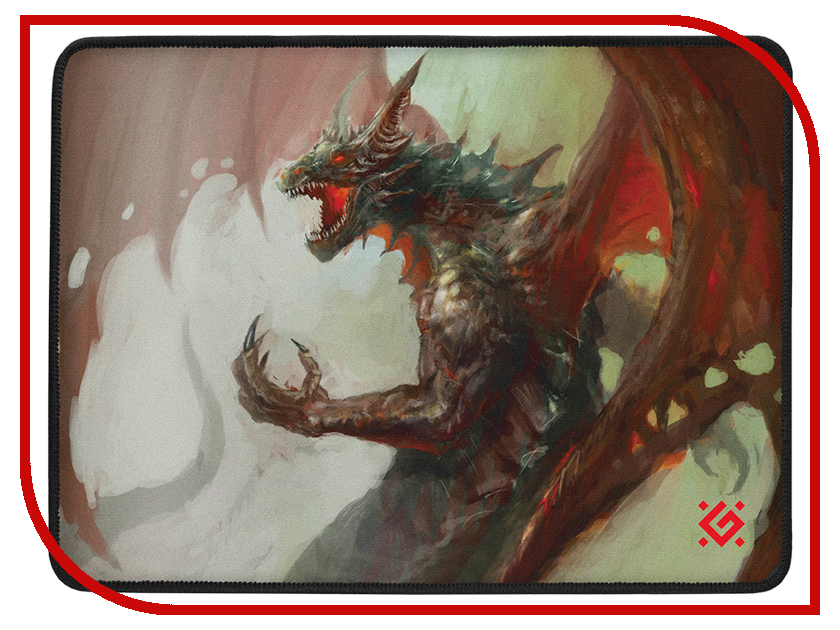 Коврик Defender Dragon Rage M 50558 pro svet light mini par led 312 ir