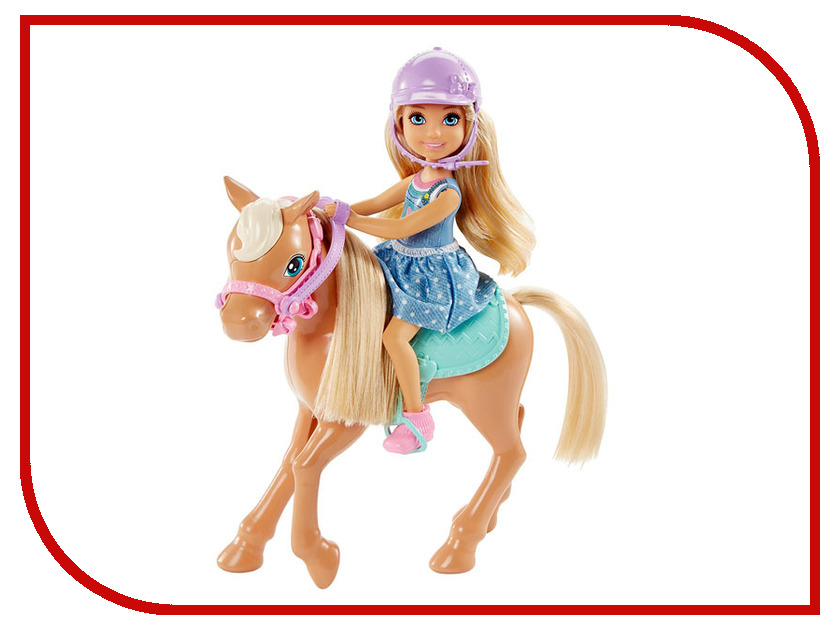 Кукла Barbie Челси и пони, DYL42