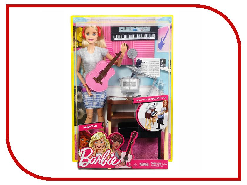 Кукла Barbie Музыкант с гитарой и синтезатором, 29 см, FCP73
