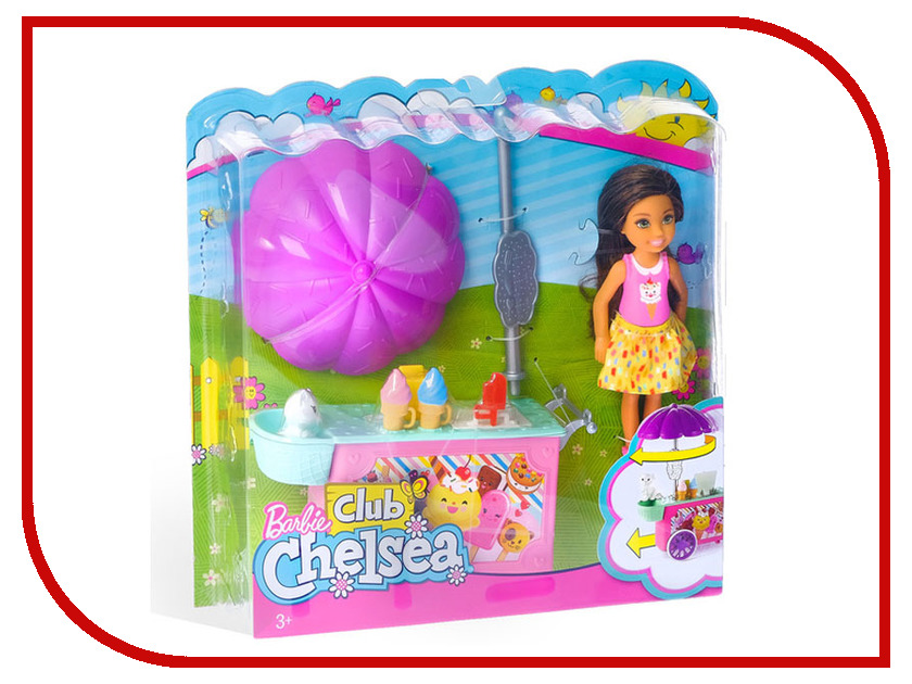 Кукла Mattel Barbie Челси и набор мебели FDB32 кукла челси в беседке barbie fdb34