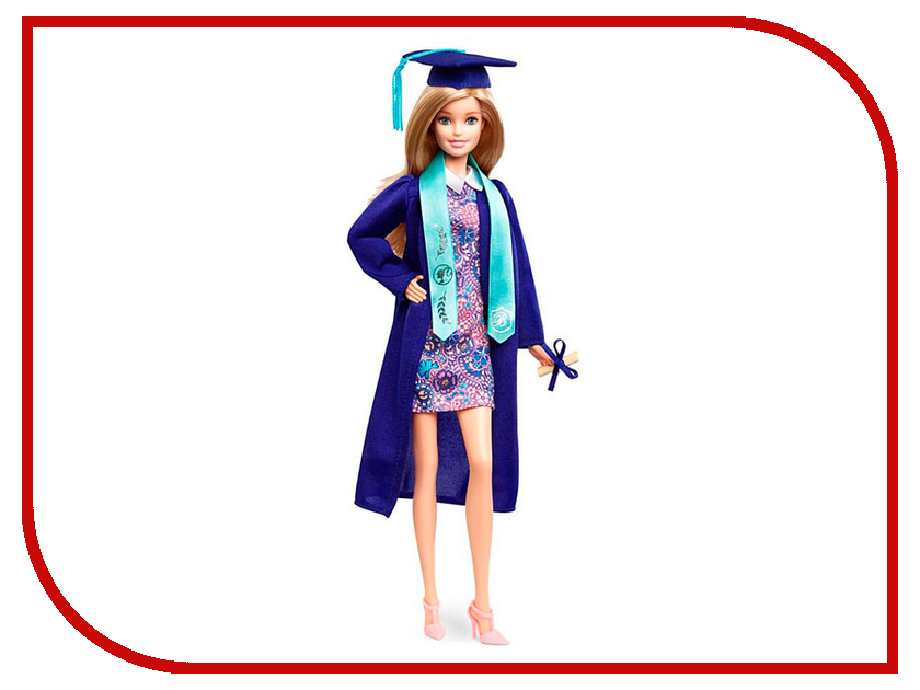 Кукла Mattel Barbie Кукла-выпускница FJH66