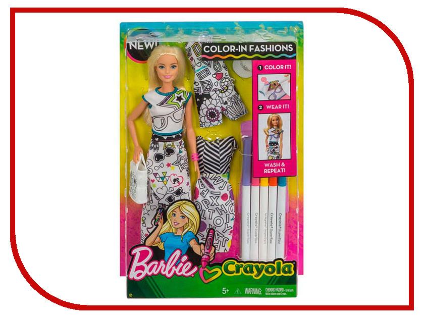 Фото - Кукла Barbie с одеждой Crayola, 29 см, FPH90 набор школьниика barbie