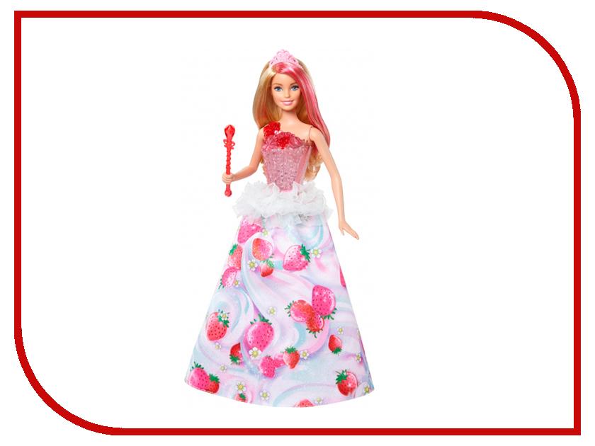 Кукла Barbie Конфетная принцесса, 29 см, DYX28 mattel mattel кукла barbie конфетная карета