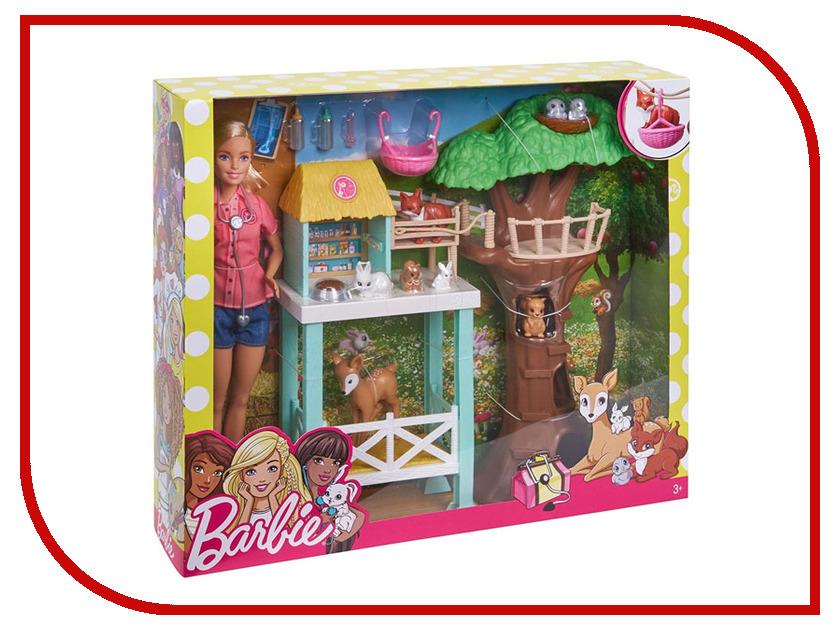 Кукла Mattel Barbie Спасатель животных FCP78 mattel кукла золушка принцессы дисней