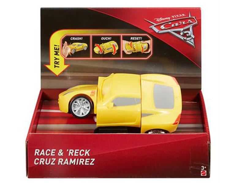 цены на Игрушка Mattel Cars Вращающийся МакКуин DYW10  в интернет-магазинах