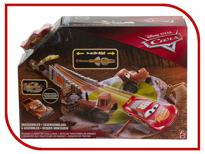 Автотрек Mattel Cars Гонка Смоки FLK03 smokie смоки augsburg