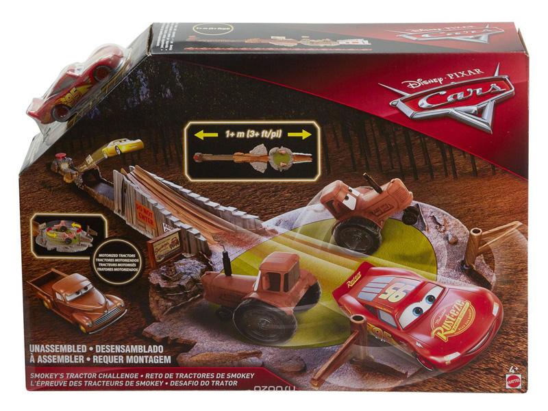 Автотрек Mattel Cars Гонка Смоки FLK03