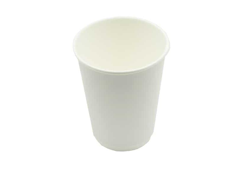 Одноразовые стаканы Ecovilka 300ml 20шт White 24906.01