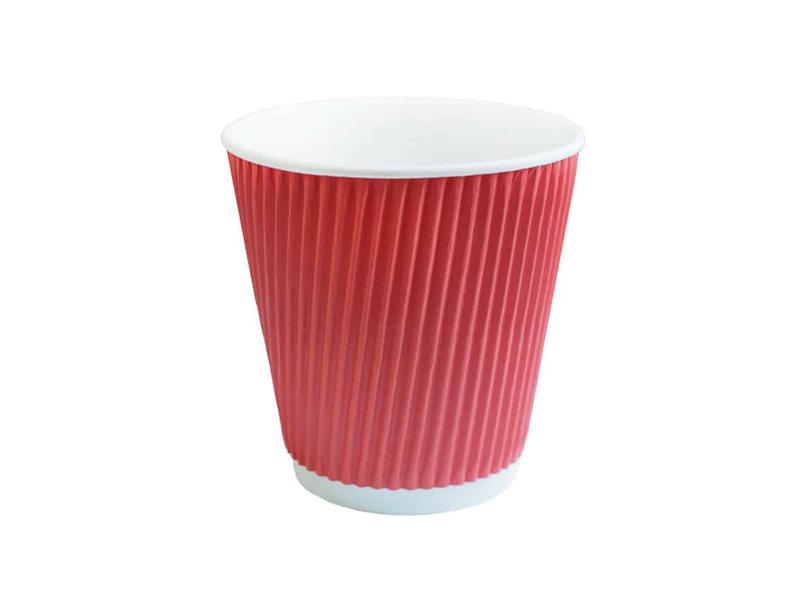 Одноразовые стаканы Ecovilka 250ml 25шт Red Gre00250