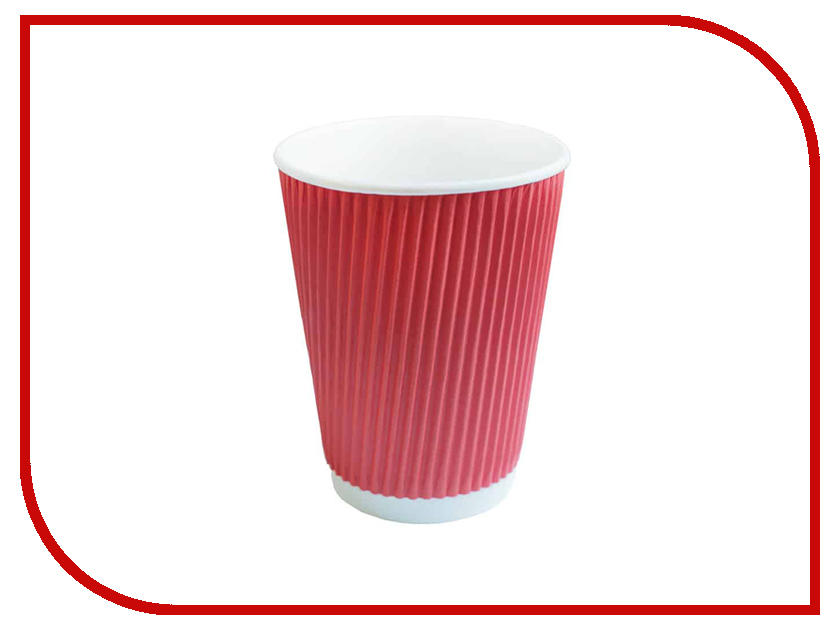 Одноразовые стаканы Ecovilka 400ml 25шт Red Gre00400 lacywear s 26 gre