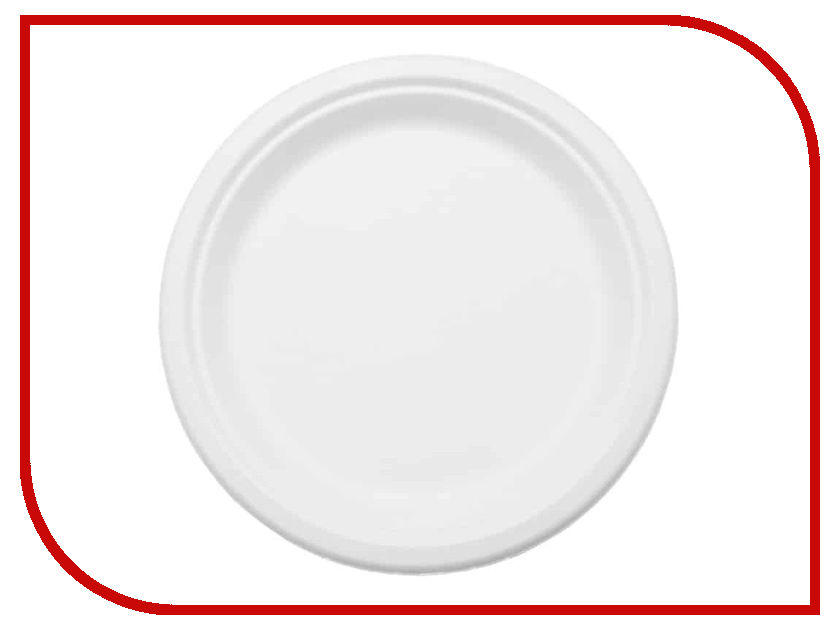 Одноразовые тарелки Ecovilka 50шт TT07B50 одноразовые тарелки ecovilka 50шт dtkr190