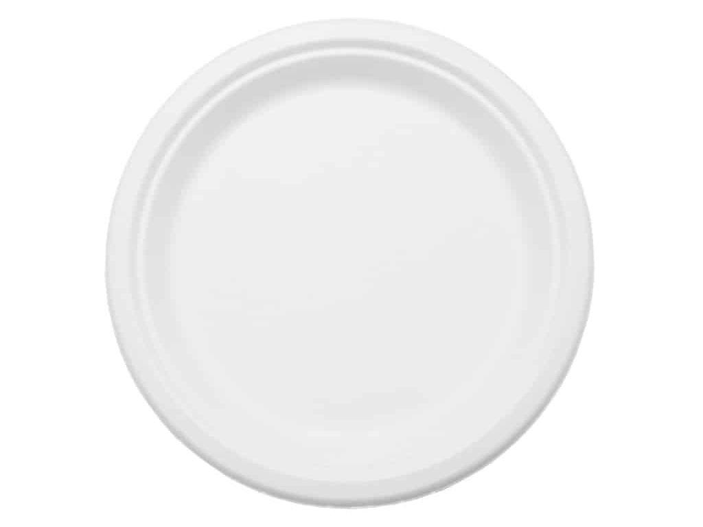 Одноразовые тарелки Ecovilka 50шт TT07B50