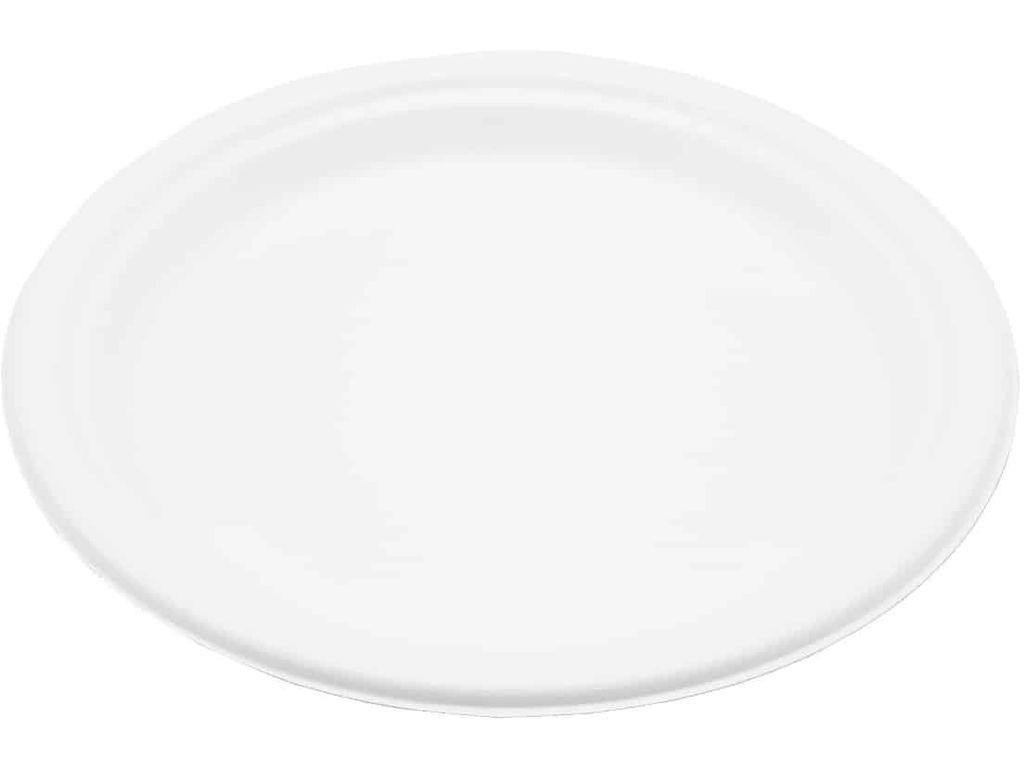 Одноразовые тарелки Ecovilka 125шт TT09