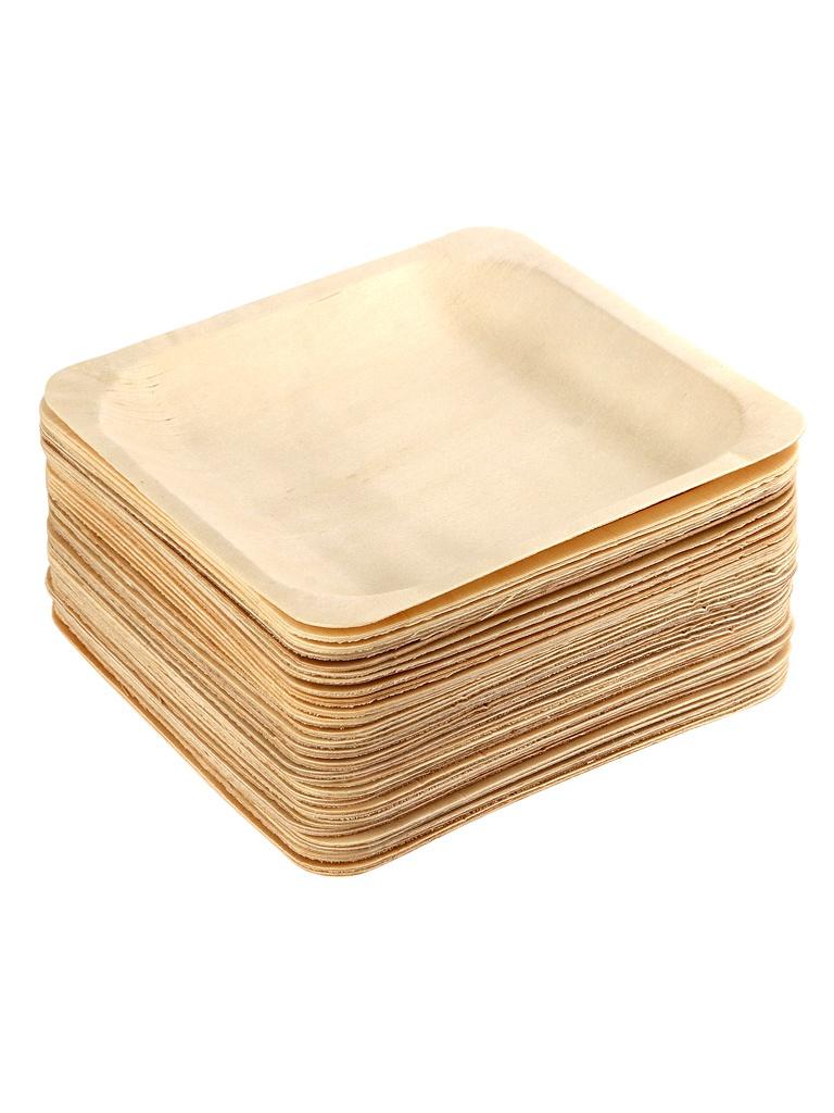 Одноразовые тарелки Ecovilka 50шт DTK140