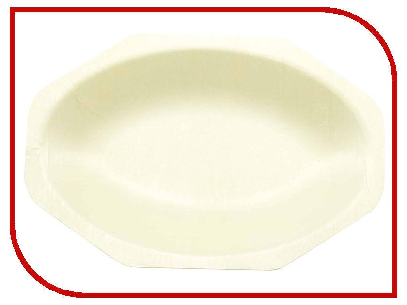 Одноразовые тарелки Ecovilka 50шт YD-T05 F2