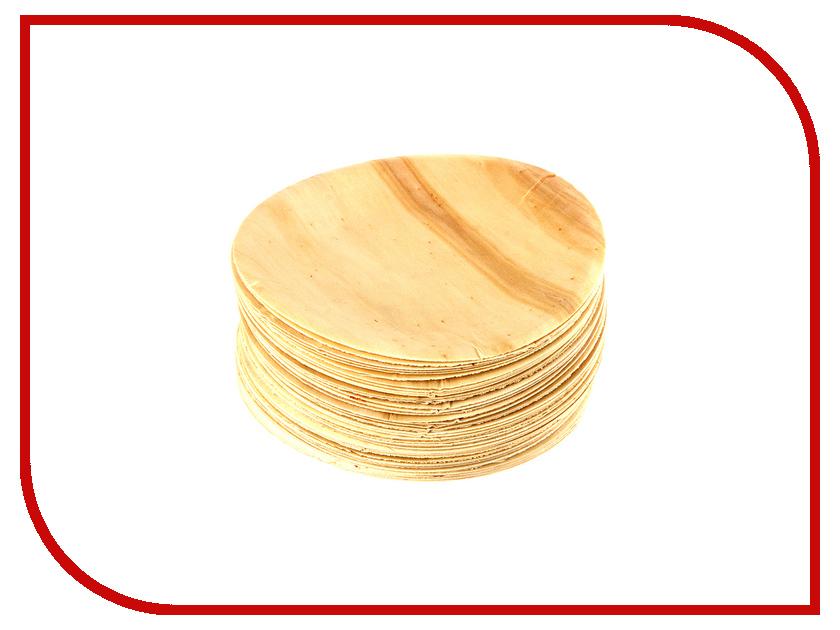 Одноразовые тарелки Ecovilka 50шт DTKR190 одноразовые тарелки ecovilka 50шт dtkr190