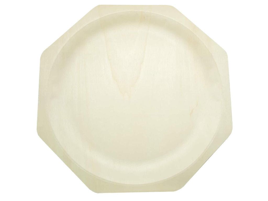 Одноразовые тарелки Ecovilka 10шт YD-T12 F1