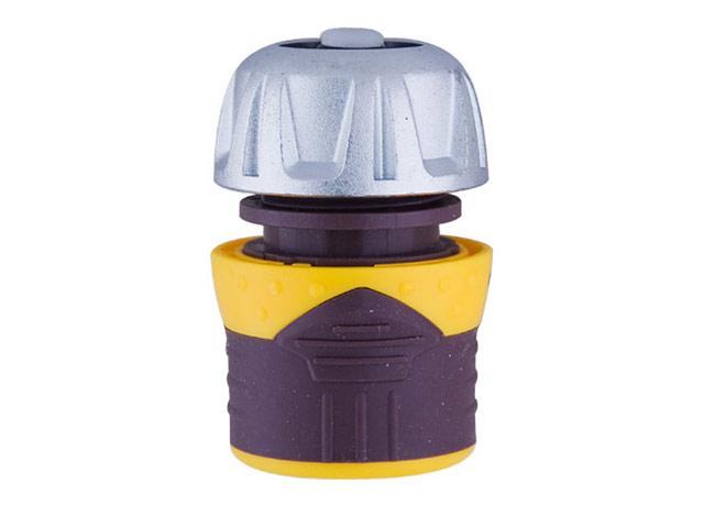 Коннектор с аквастопом Brigadier 84071