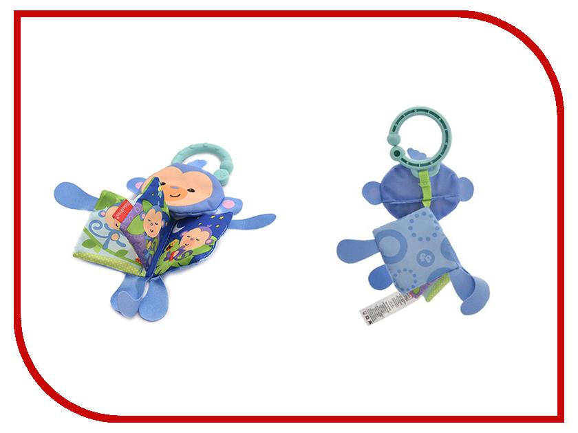 Игрушка Mattel Fisher-Price Мягкая книжка-игрушка Тигр / Обезьянка CCG04 развивающая игрушка fisher price мягкая книжка в ассортименте