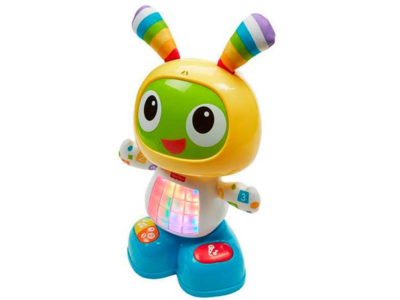 Игрушка Fisher-Price Веселые ритмы. Обучающий робот Бибо (DJX26)
