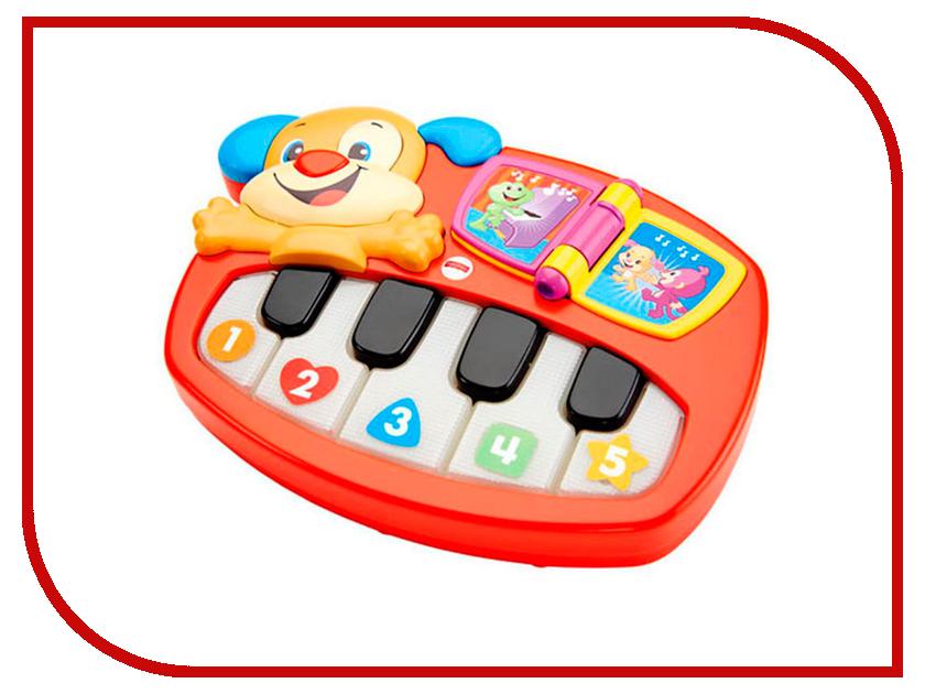 Детский музыкальный инструмент Mattel Fisher-Price Пианино-щенок DLK15 музыкальный инструмент детский doremi синтезатор 37 клавиш с дисплеем