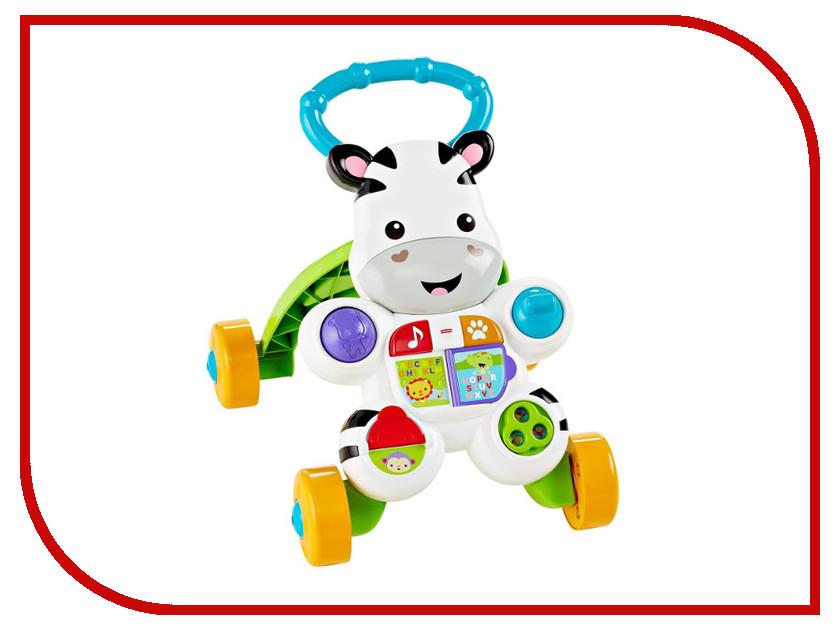 Каталка Mattel Fisher-Price Ходунки Зебра DPL54 цены