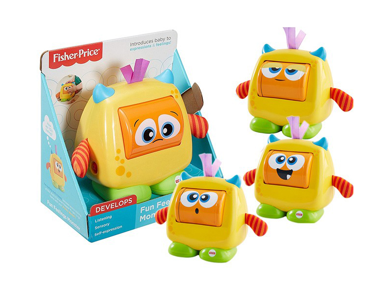 Игрушка Mattel Fisher-Price Добрый монстрик DRG13