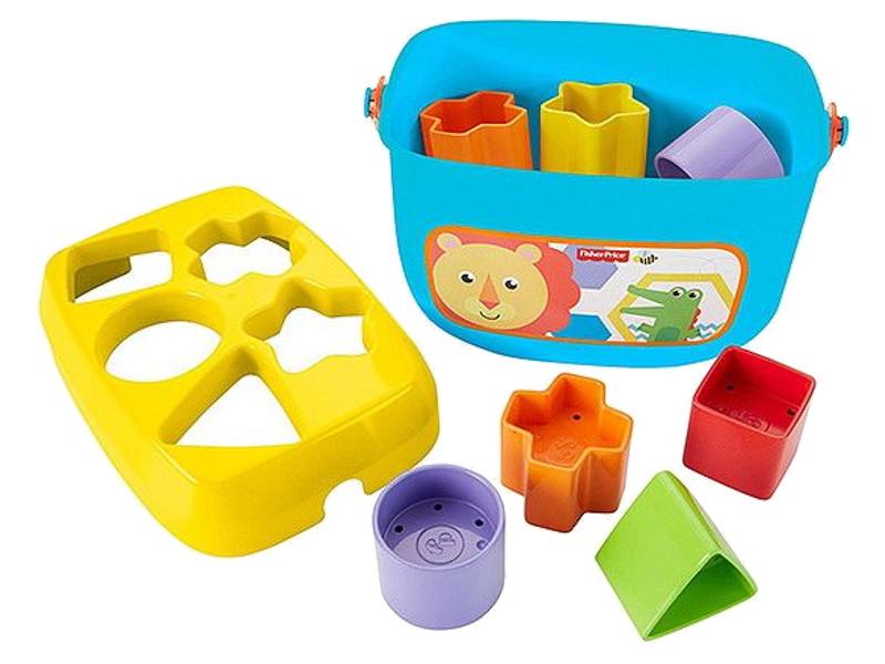 Сортер Mattel Fisher-Price Первые кубики малыша FFC84