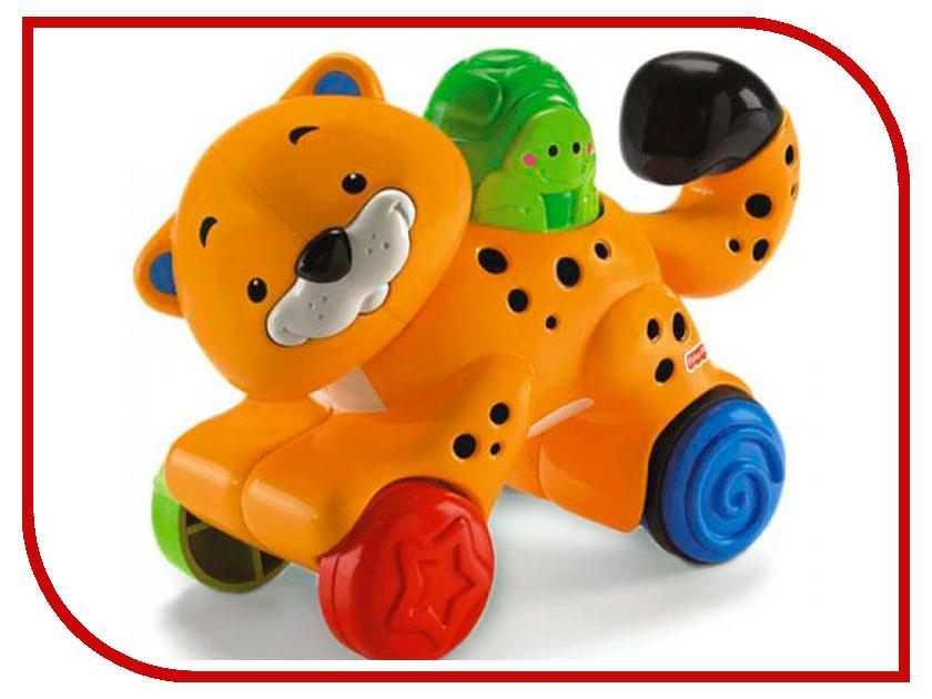 Игрушка Mattel Fisher-Price Веселые животные на колесиках N8160 погремушки fisher price mattel прорезыватель животные