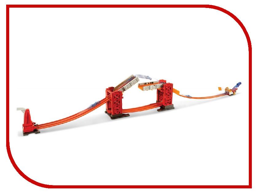 Автотрек Mattel Hot Wheels Конструктор Трасс: Разводной Мост DWW97