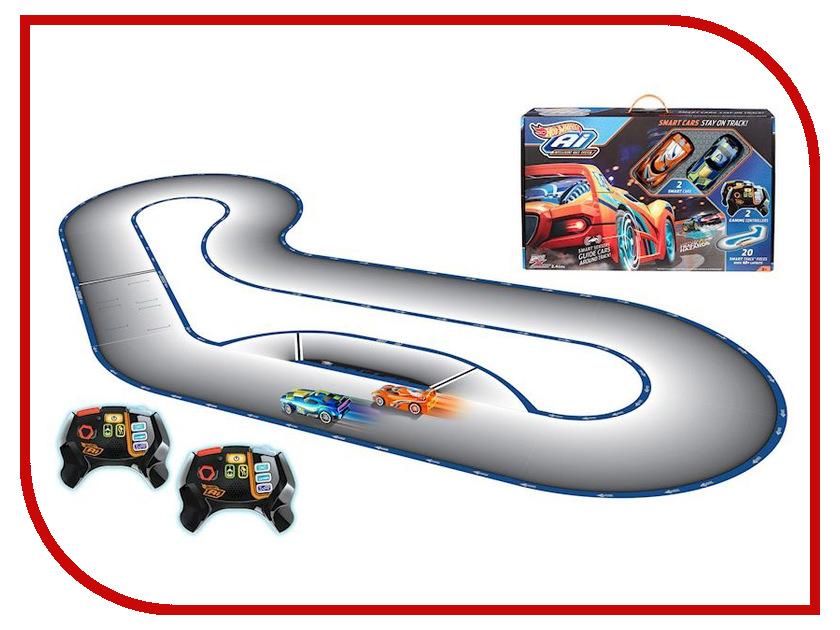 Автотрек Mattel Hot Wheels Умная трасса: A.I Starter set FBL83 mattel автотрек hot wheels сити полицейская погоня