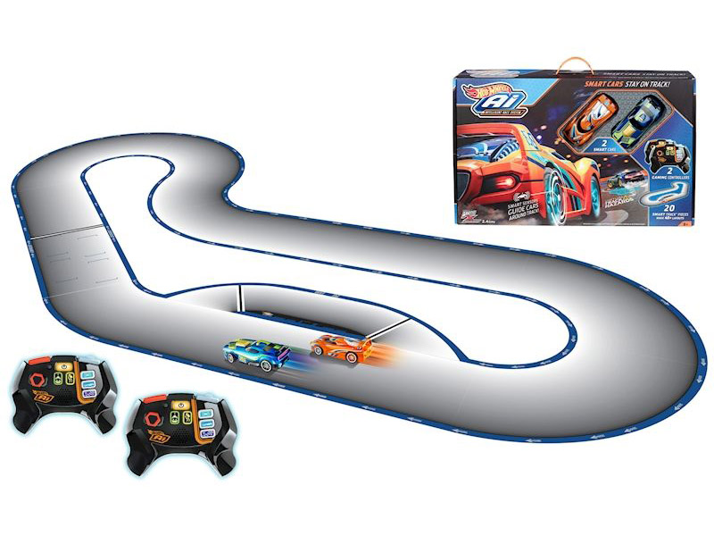 Автотрек Mattel Hot Wheels Умная трасса: A.I Starter set FBL83 автотрек умная дорога уд003 4603726949026