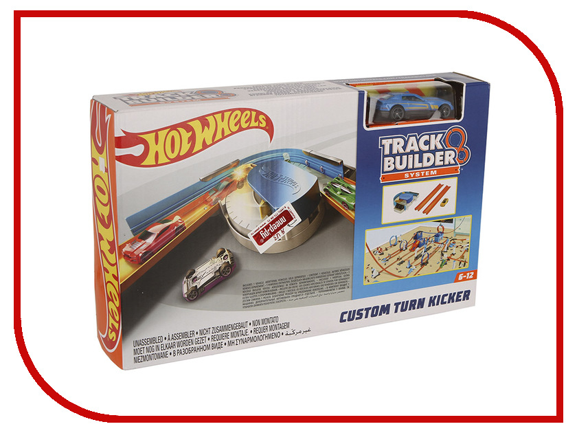 Автотрек Mattel Hot Wheels Конструктор трасс: базовый набор с машинкой DNH84 сумка kipling k15256 2014