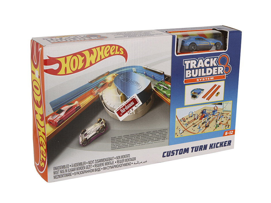 Автотрек Mattel Hot Wheels Конструктор трасс: базовый набор с машинкой DNH84