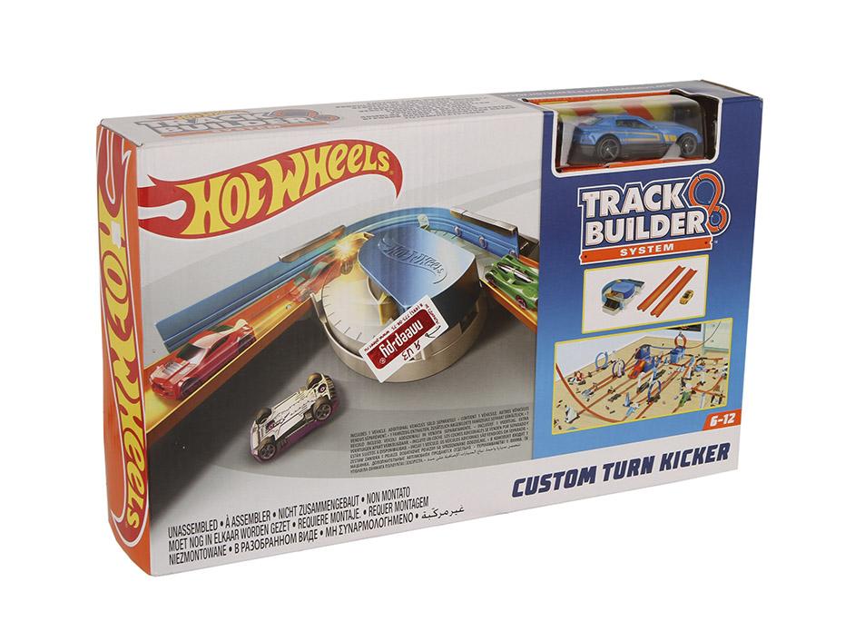 Автотрек Mattel Hot Wheels Конструктор трасс: базовый набор с машинкой DNH84 mattel автотрек hot wheels с монстрами злодеями атака паука в парке