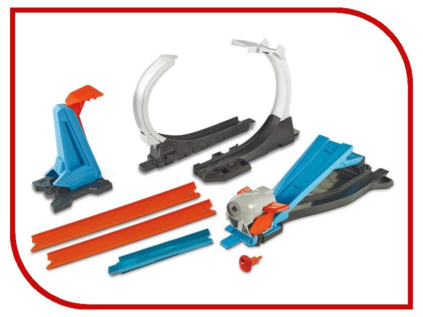 Автотрек Mattel Hot Wheels Конструктор трасс Запуск ракеты FLK60