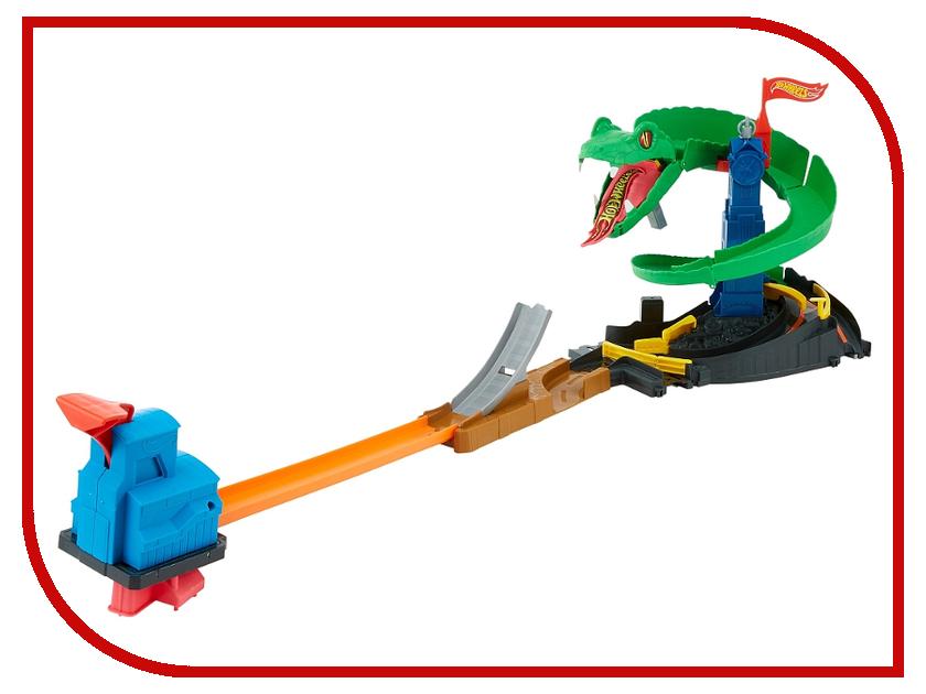 Автотрек Mattel Hot Wheels: Бросок кобры FNB20 mattel автотрек hot wheels сити полицейская погоня
