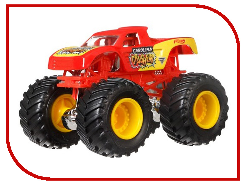 Игрушка Mattel Hot Wheels Monster Jam 1:64 21572 mattel машинка hot wheels monster jam бэтмен