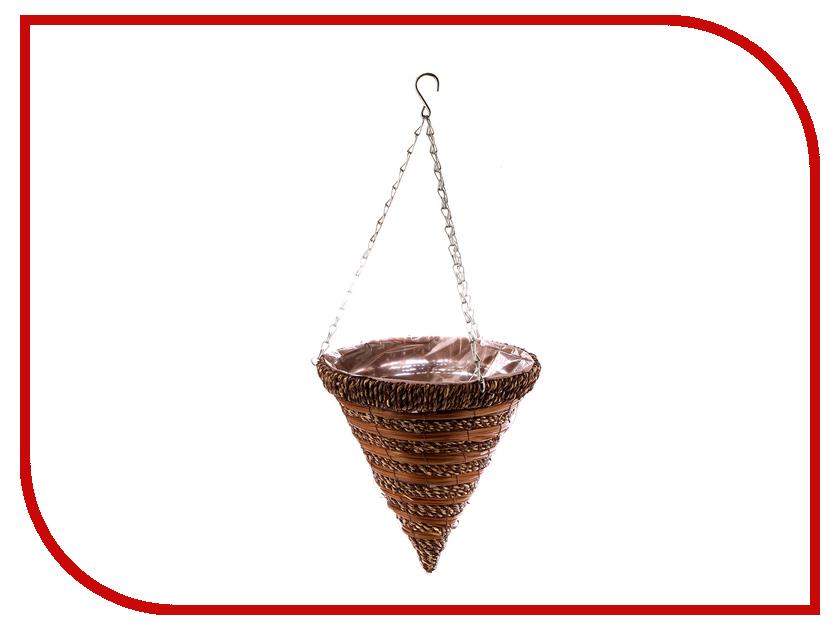 Кашпо Palisad Ротанг 30cm 69063 зонт palisad 69700