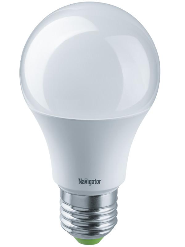 Лампочка Navigator 61 475 NLL-A60-10-12/24-4K-E27