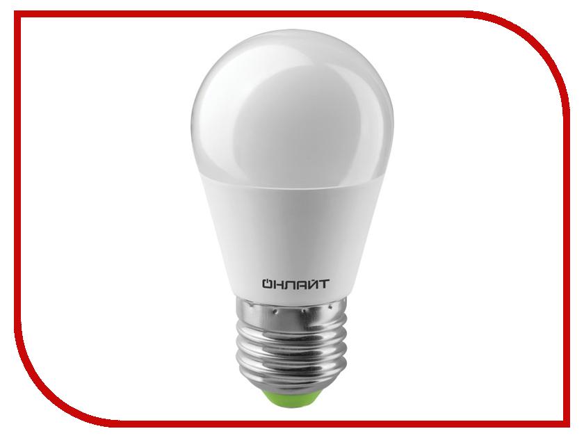 Лампочка ОнЛайт Лампа 61 970 OLL-G45-10-230-6.5K-E27 лампочка онлайт 71 645 oll g45 6 230 2 7k e27