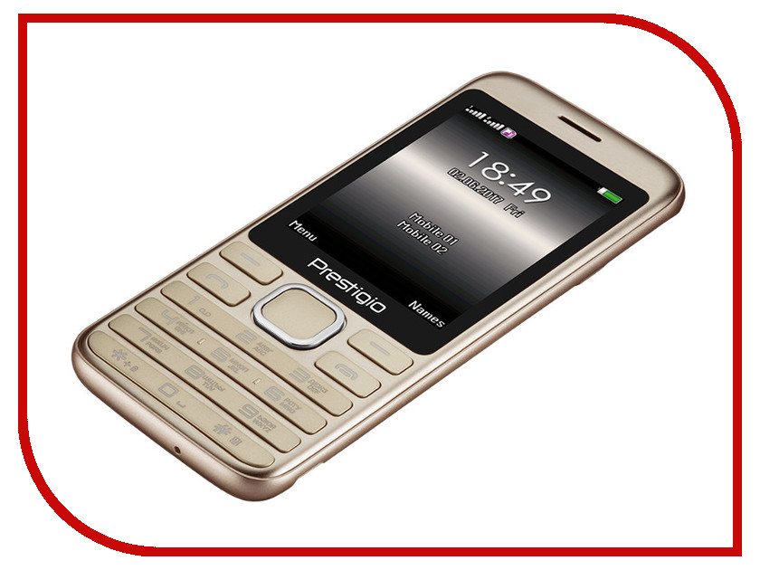 Сотовый телефон Prestigio Grace A1 Gold PFP1281DUOGOLD сотовый