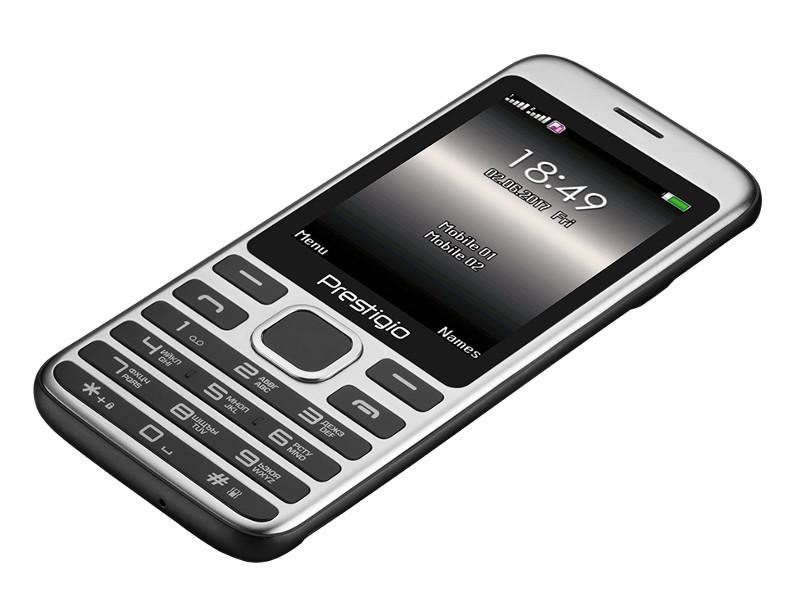 Сотовый телефон Prestigio Grace A1 Black PFP1281DUOBLACK стоимость