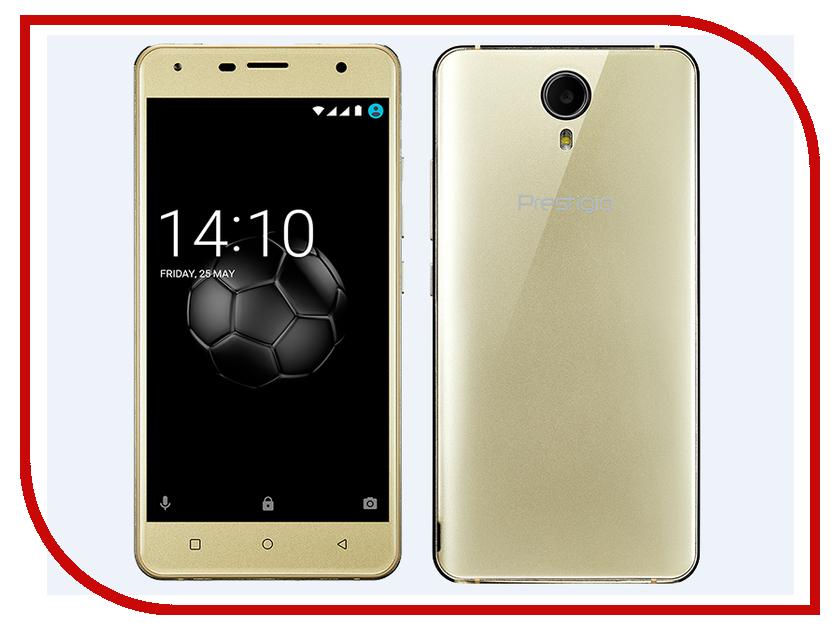 Сотовый телефон Prestigio Muze X5 LTE Gold сотовый телефон prestigio muze e7 lte red