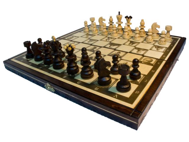 Игра Madon Шахматы Империя 3 в 1 144AP