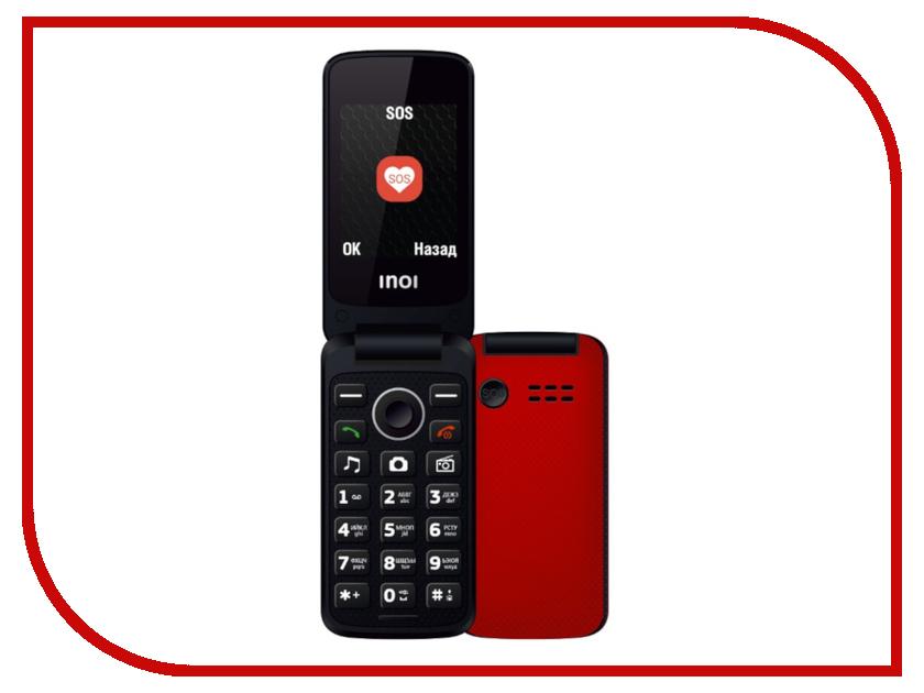 Фото Сотовый телефон Inoi 247B Red сотовый телефон archos sense 55dc 503438