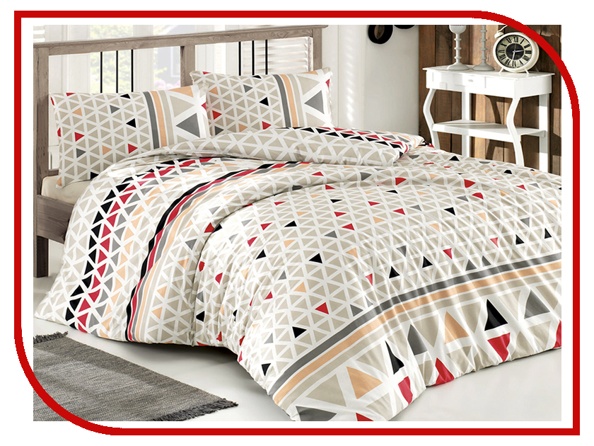 Постельное белье Arya Dorma Комплект 1.5 спальный Ранфорс ARL0000021