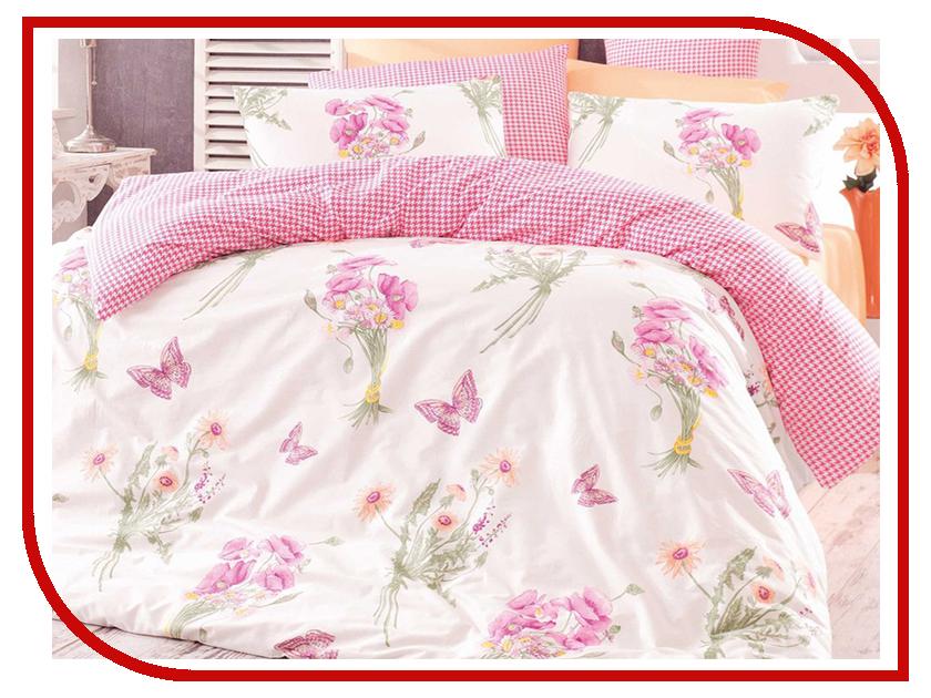Постельное белье Arya Natalia Комплект Семейный Ранфорс Pink TR1002734 natalia lafourcade mexico